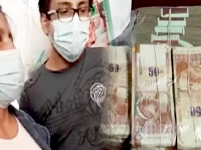 Huancayo: ¡insólito! madre retira denuncia contra hijo que le robó S/.120 mil