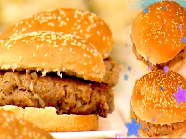 Cocina D'mañana: la receta secreta de Paco Flores para preparar deliciosas hamburguesas caseras