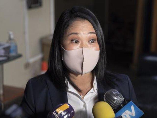 """Keiko Fujimori sobre Guido Bellido: """"Creo que es momento de empezar una interpelación"""""""