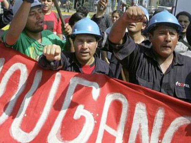 380 trabajadores fueron retenidos ilegalmente por periodos de 30 a 60 días en su centro laboral