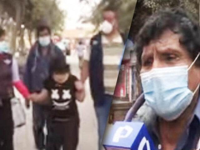 Vecinos se solidarizan y piden ayuda para joven con síndrome de Down