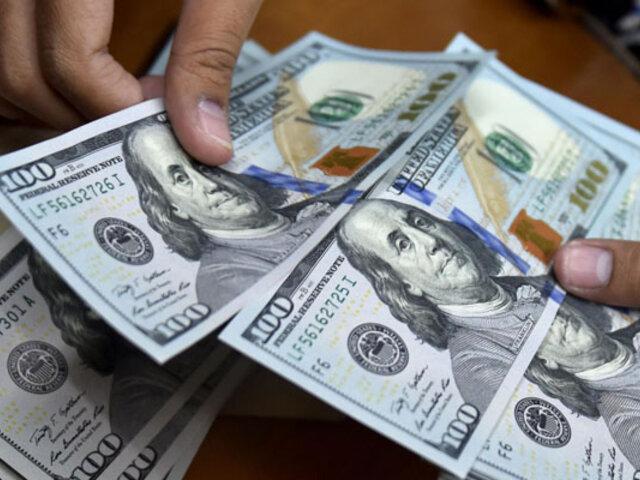 Tipo de cambio se cotiza por debajo de S/ 4 al cierre de la semana