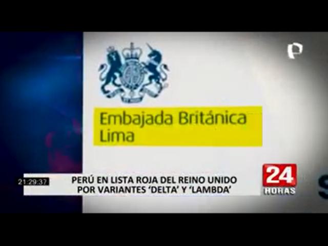 Covid-19: Reino Unido prohíbe el ingreso de ciudadanos peruanos a su territorio