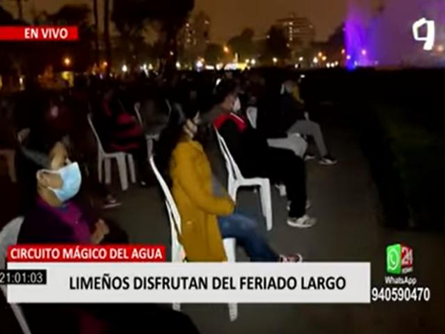 Limeños disfrutaron del feriado largo en distintos puntos de la ciudad