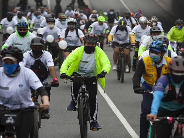 Más de 500 ciclistas se sumaron a la gran bicicleteada por el cuidado de los ríos