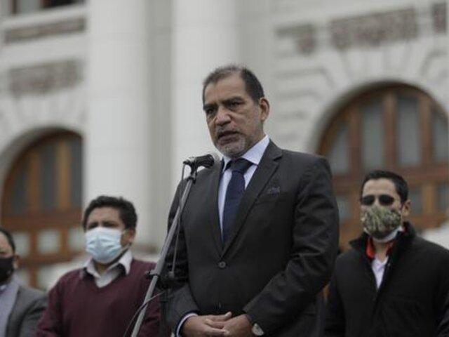 Ministerio del Interior usó sus redes sociales para defender a Luis Barranzuela