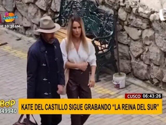 "Kate del Castillo en Cusco: se filtra escena de la tercera temporada de ""La Reina del Sur"""