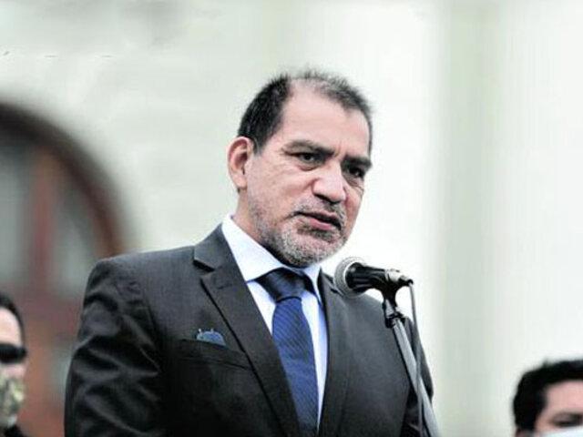 Luis Barranzuela: Comisión de Defensa del Congreso cita al ministro del Interior este lunes 18