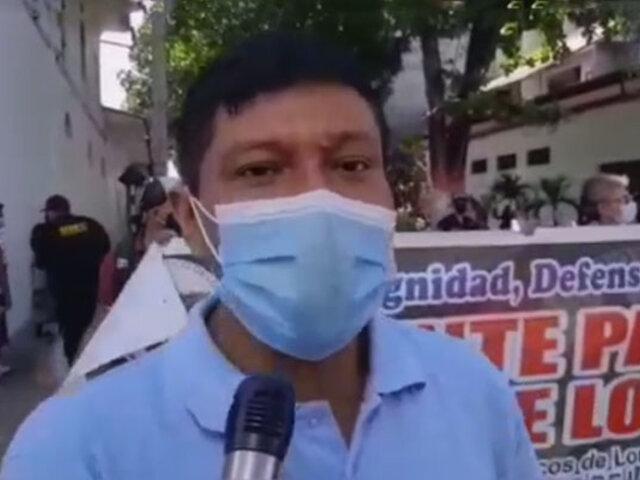 Loreto: protestan por contaminación del río Nanay a causa de la minería ilegal