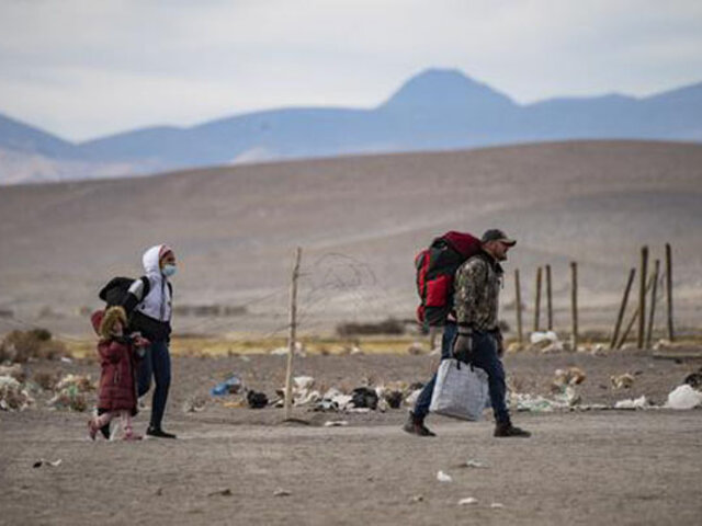 Una bebé falleció cuando sus padres intentaban cruzar la frontera para llegar a Chile