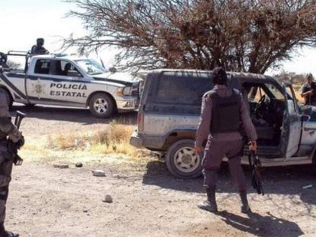 Enfrentamiento a balazos entre grupos criminales deja al menos 20 muertos en México