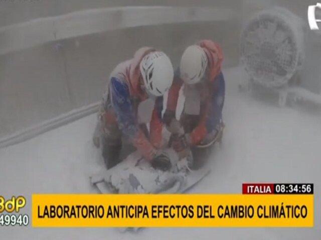 Soportan temperaturas extremas: laboratorio anticipa efectos del cambio climático