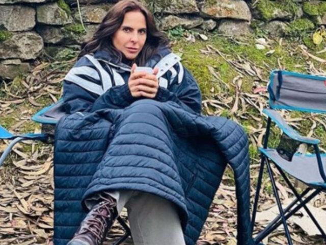 Kate del Castillo: actriz mexicana quedó impresionada con ciudadela inca de Machu Picchu