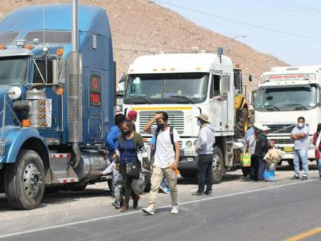 Gremio de Transportistas y Conductores del Perú anunciaron nuevo paro el 8 de noviembre