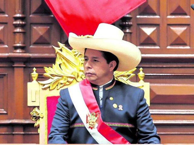 Pedro Castillo: aprobación del presidente se mantiene en 42%, según encuesta de Ipsos