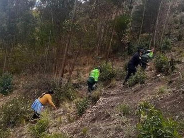 Hallan cadáver de jovencita que estuvo 12 días desaparecida en Huancavelica