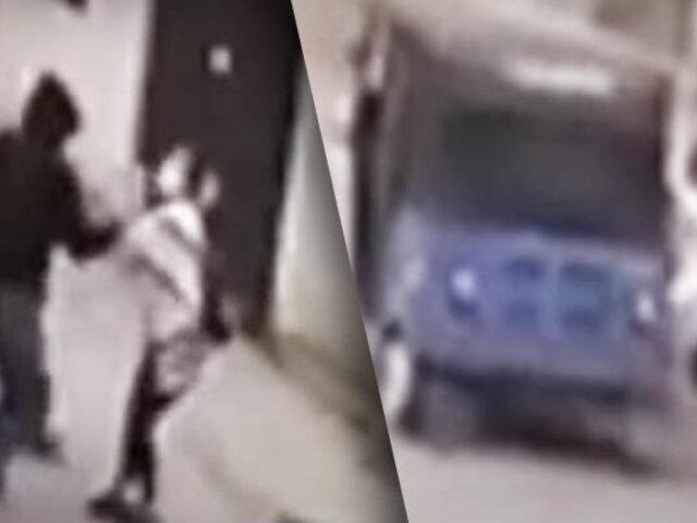 Mujer es arrastrada violentamente para robarle en Carabayllo