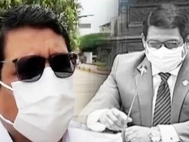 Tumbes: congresista Héctor Ventura defendió a su hermano tras polémica por maestrías