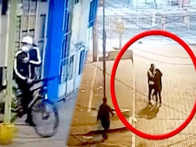 El Agustino: alias 'piqui' acechaba a sus víctimas en bicicleta para robarles