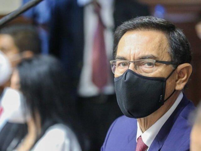 PJ rechaza pedido para que JNE le entregue credenciales de congresista a Martín Vizcarra