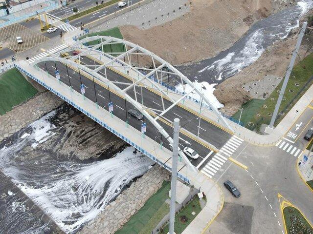 SMP: vecinos denuncian asaltos y falta de iluminación en puente recién inaugurado