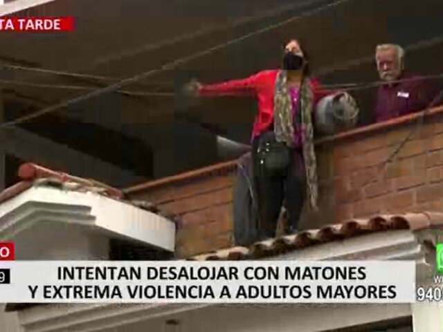 Surco: adultos mayores se atrincheran para evitar desalojo