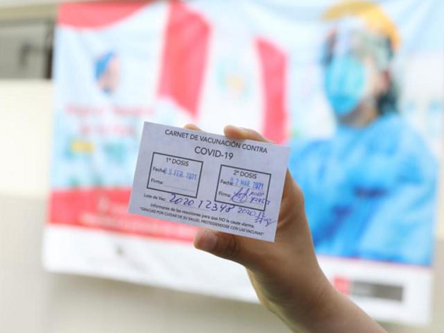 Exigirán carnet de vacunación contra el Covid-19 para asistir a espectáculos masivos en Junín
