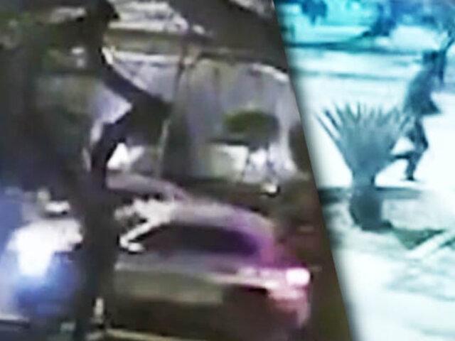"""Banda del """"Mercedes Benz"""": Atraco termina en balacera en las calles de Jesús María"""