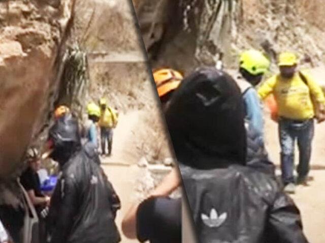 Heladero cruza cañón de Autisha y se vuelve viral