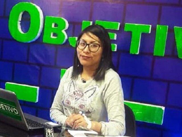 Denuncian que periodista fue golpeada y azotada por jefe de ronderos de la comunidad Uros