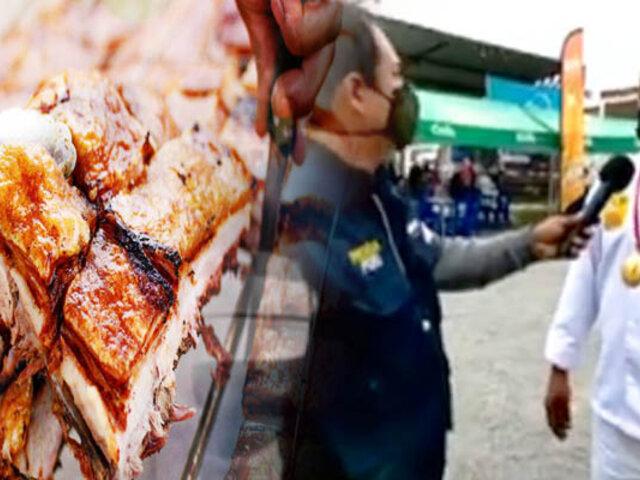 """Huaral: Festividad del """"Chancho al Palo"""" llega con todo su crocante sabor"""