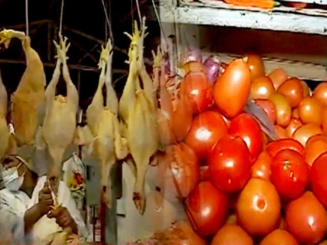 Mercado Lobatón Lince: venta de pollo se reduce ante incremento del precio