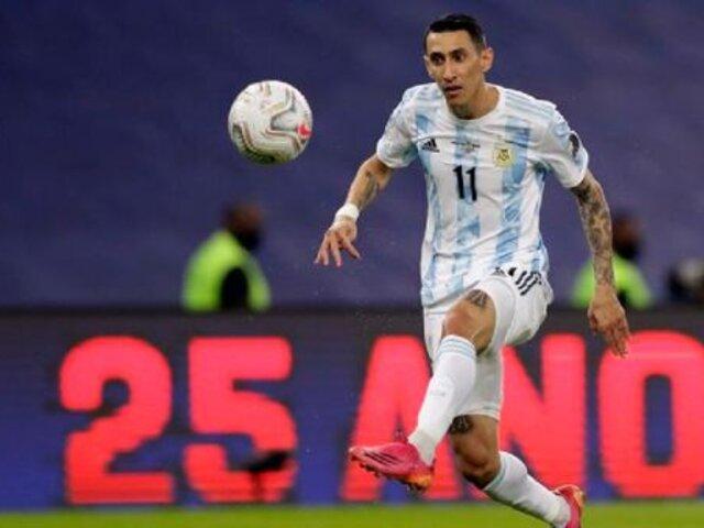 """Perú vs Argentina: Di María afirma que sumar de a tres es """"lo más importante"""""""