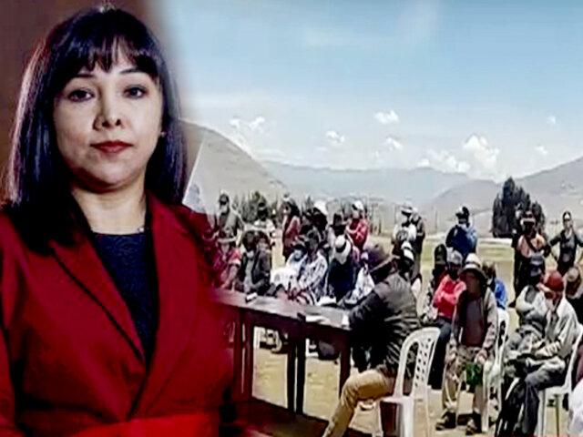 Cotabambas: esperan llegada del presidente para retomar mesa de diálogo por conflicto con minera