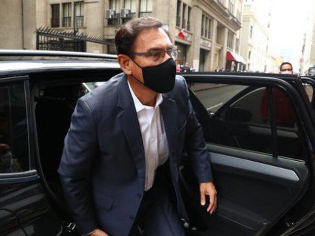 Poder Judicial dejó al voto recurso de Martín Vizcarra para dejar sin efecto inhabilitación política