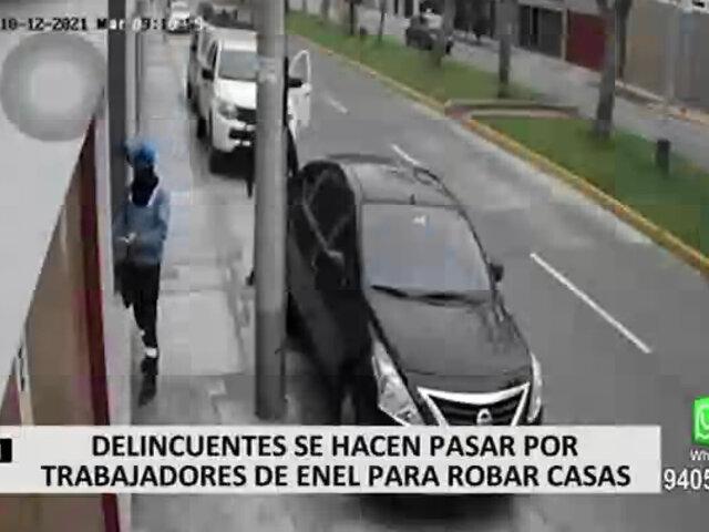 Delincuentes se hicieron pasar por trabajadores de Enel para robar casas