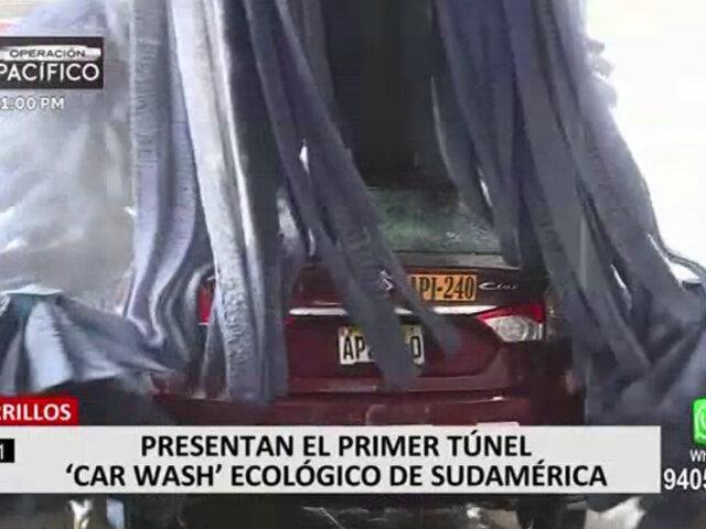Moderno carwash en Chorrillos reactiva la economía con novedoso sistema