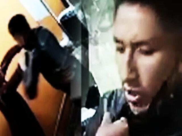 Arequipa: Delincuente armado con navaja asalta una panadería
