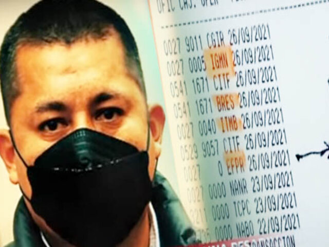 Trabajador del Estado denuncia que pidieron préstamo a su nombre y le vaciaron sus cuentas