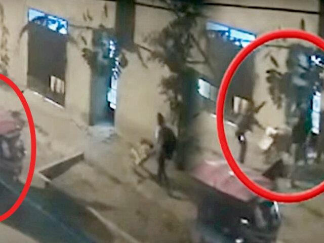 Carabayllo: así acorralaron dos delincuentes armados a un hombre para robarle