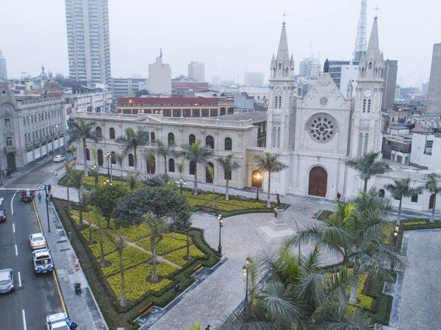 Municipalidad de Lima entrega plaza Francia totalmente renovada