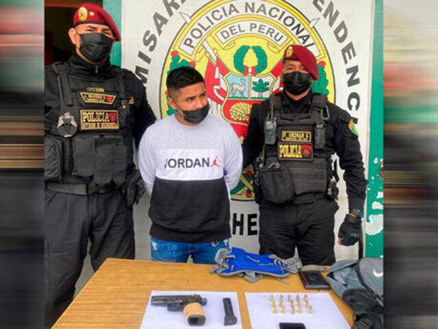 Independencia: sujeto que llevaba una pistola fue detenido cerca de estación del Metropolitano