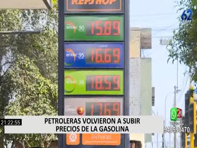 Dólar vuelve a incrementarse ligeramente y aumenta el precio de combustibles