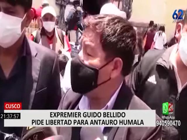 Cusco: Guido Bellido continúa dando polémicas declaraciones
