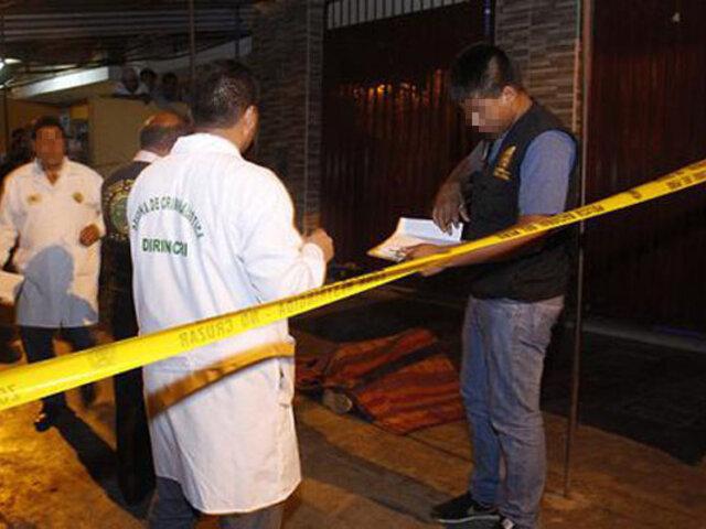 SMP: sicarios asesinan a balazos a joven cuando se retiraba de una discoteca