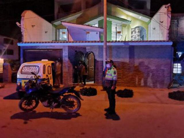 Pisco: presuntos extorsionadores detonan explosivo en puerta de vivienda