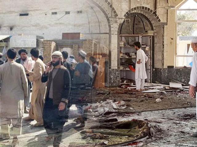 Atentado en mezquita deja cerca de 40 muertos y 70 heridos en Afganistán