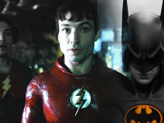 'The Flash': Tráiler muestra el regreso de Michael Keaton como Batman