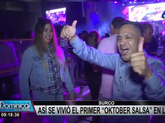 Oktober Salsa: así se vivió el primer concierto de salsa en el Arena Perú de Surco