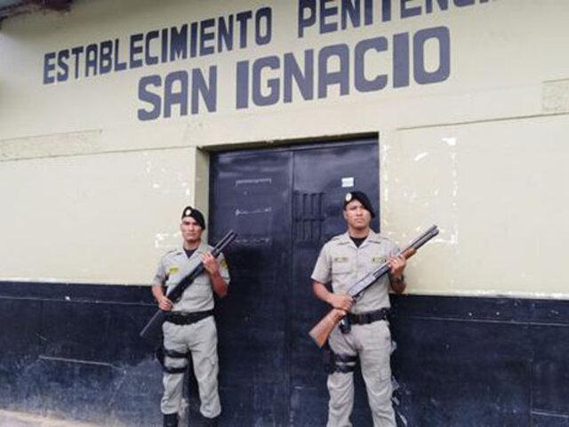 Presos toman como rehén a un agente del INPE y fugan de penal de Cajamarca